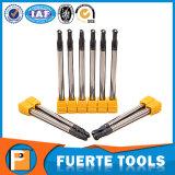 Kundenspezifisches Holzbearbeitung-Werkzeugmaschinen-Enden-Tausendstel mit Kegelzapfen-Kugel-Wekzeugspritze