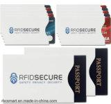 RFID que obstrui protetores do cartão de crédito da proteção da identidade do desenhador gráfico das luvas