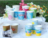 12oz und 16oz gedrucktes Milchshake-Papier Cup-Yhc-102