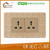Interruttore elettrico della parete di alta qualità di colore del mosaico