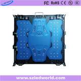 Indicador digital de fundición a presión a troquel de alquiler a todo color de interior de P5 LED electrónico para hacer publicidad