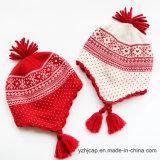 ジャカード帽子の帽子の帽子の頭骨の帽子によって編まれる帽子