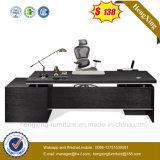Klassisches leeres Anfangsetikett hölzernes L Form-Büro-Tisch (HX-5DE065)