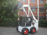 Mini caricatore diesel scavatore del manzo di pattino di vendita calda
