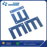 Laminage en acier de fer de silicium E-I de faisceau pour le transformateur simple et triphasé