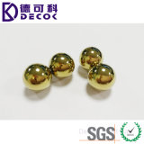 Покрынный золотом шарик нержавеющей стали