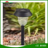 Solar Light Outdoor Aço inoxidável LED Amorfo Silicone Rechargebale Solar Caminho Light White / Warm White Landscape Garden Solar Lawn Light
