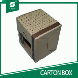 Прямоугольная покрашенная бумажная коробка для упаковывать чашек