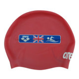 卸し売りカスタム防水シリコーンの水泳の帽子