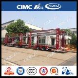 Cimc Huajun 9 automobili il suo rimorchio dell'elemento portante di automobile