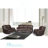 Modernes ledernes Recliner-Sofa für Heimkino (DW-6012-2S)