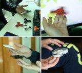Persona agitada plástica del hilandero del ABS del hilandero de la mano con los rodamientos 608 del hilandero del juguete