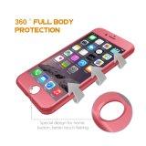 360 iPhone 6plus PC 단단한 이동할 수 있는 부속품을%s 가득 차있는 방어적인 셀룰라 전화 상자