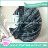 Lavoro a maglia del filato fantasia -12 del cotone della piuma delle lane del poliestere