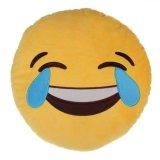 Katoenen van de decoratie pp Zacht Hoofdkussen Emoji