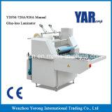 Máquina manual del laminador de la película de Themal de la mejor venta para el solo papel lateral