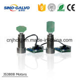 Laser 조각 절단기를 위한 널리 이용되는 큰 힘 Js3808 Galvo 헤드