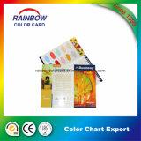 Carte de couleur pour la peinture d'intérieur de matériau de construction