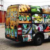 Selbstklebendes wasserdichtes Auto, das Vinylaufkleber für Fahrzeug-Dekoration einwickelt