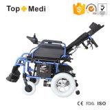 Кресло-коляска оборудования терапией реабилитации возлежа складная электрическая для инвалид