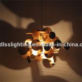 Quente! Lâmpadas de madeira naturais coloridas modernas do pendente para a iluminação
