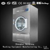 Vollautomatische industrielle Wäscherei-trocknende Maschine der Dampf-Heizungs-15kg (Edelstahl)