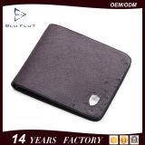 Портмоне короткого владельца карточки кожи страуса карманного бумажника подарка неподдельное мягкое