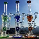 Tubo de água de gelo direto Bio Hazard Glass com coletor de cinzas