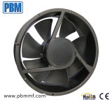 245X89mm DC monophasé Axial Ventilation Fan