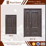 表玄関デザイン両開きドア2016/Mainの安全ドアデザインまたはアルミニウムドアの部品