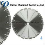 Lame silencieuse de diamant de soudure à haute fréquence pour la lame de découpage de diamant de granit