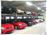 2台の車スペース油圧駐車