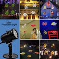 Indicatore luminoso staccabile del proiettore di natale LED della spina dell'Ue mini per natale/decorazione festa/esterna