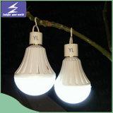 プラスチック9WアルミニウムE27 LED電球