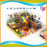 Цветастая привлеченная малая крытая мягкая спортивная площадка для детей (A-12317)