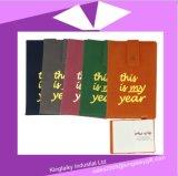 Cadeau en cuir de cahier réglé pour la promotion (P017)