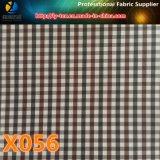 3mm Kation-Gingham-Check-Gewebe, Polyester-Gewebe mit wasserdichtem für Kleid (X055-57)