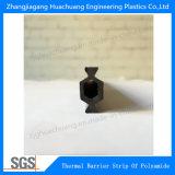 다중 구멍 HK 유형 14.8-35.3mm Polyamide6 방열 단면도