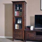 Самомоднейший шкаф стойки TV древесины просто конструкции (GSP15-006)