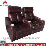 판매 Yj9002를 위한 가죽 가정 착석 VIP 영화관 의자