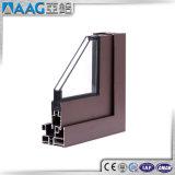 Alluminio che fa scorrere portello interno con la verniciatura temperata doppio