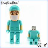 shape USB 로봇 외과의사 닥터 섬광 드라이브 (XH-USB-147)