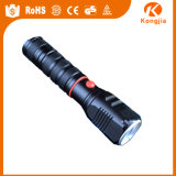Lanterna elétrica de alumínio 365nm&#160 de 800 lúmens; Nichia UV LED Lanterna elétrica