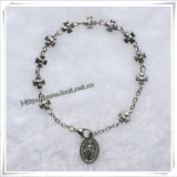 Cloisonneビードの数珠のブレスレット、数珠の腕輪(IO-CB077)