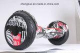 Собственной личности bluetooth скейтборда Hoverboard зебры 2017 2 колес самокат вездеходной электрической музыкальной балансируя