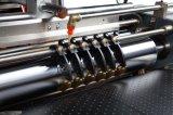 Tampa de livro servo automática do posicionamento que faz a máquina do fabricante da caixa da máquina