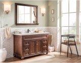 Governo di stanza da bagno di legno bianco sottile moderno di vendita calda degli S.U.A. (GSP9-010)