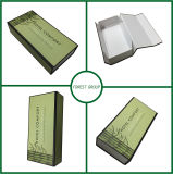 Bamboo Green Color Printing Flat Pack Gift Box