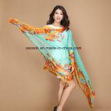 Form gedruckter Silk Schal für Dame Silk Shawl