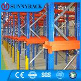 Mit hoher Schreibdichtelager-Speicher Fahren-Durch Ladeplatten-Racking-System